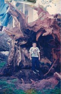 Root ball and nephew, Ben